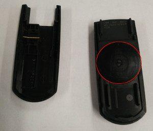 マツダ車 キー電池交換3