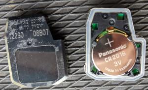 トヨタリモコンキー電池番号