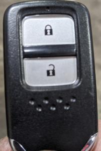 ホンダスマートキーボタン側