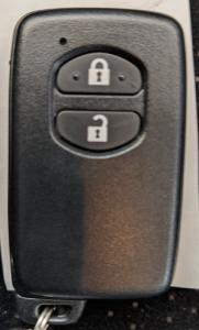 トヨタスマートキーボタン側