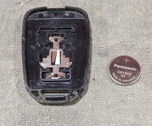 ホンダリモコンキー電池