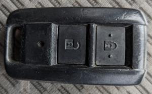 デュトロリモコンキーボタン側