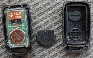 デュトロリモコンキー電池カバー分解後