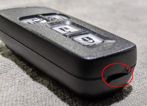 N-BOXスマートキー開け方