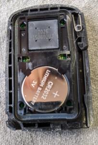 トヨタスマートキー電池