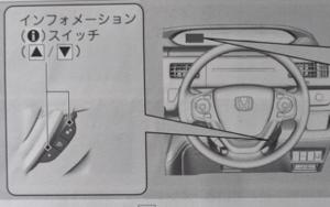 ステップワゴン マルチインフォメーションディスプレイ装着車