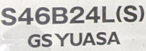 S46B24L(S)